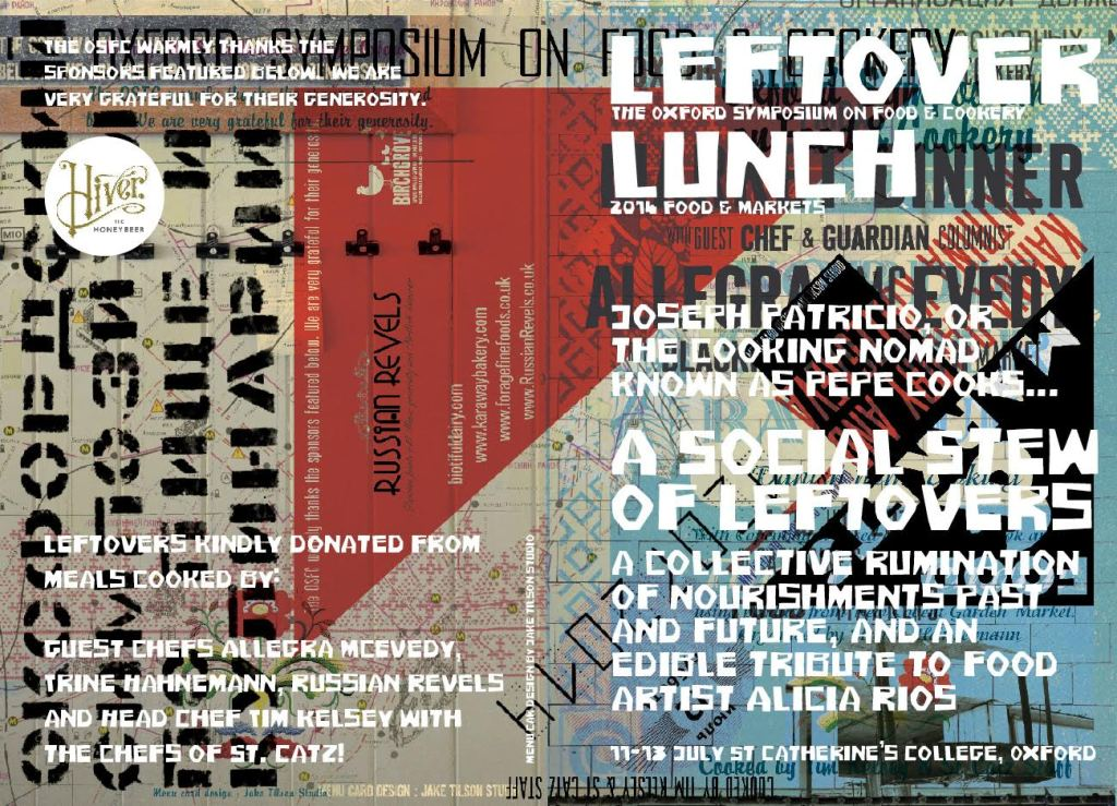 Oxford Leftover Lunch. Pepe Dayaw. design by Jake TIlson